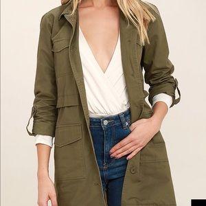 BB Dakota Green utility jacket